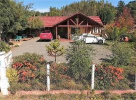 Villa Taly, cabin in Coelemu
