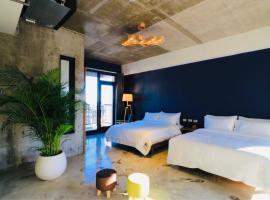 七星潭泥作輕旅民宿,大漢村奇萊鼻燈塔附近的飯店