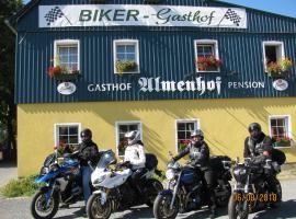 Bikergasthof Almenhof, Hotel in der Nähe von: Toskana Therme Bad Schandau, Hohnstein