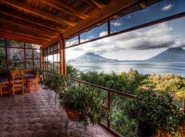 Casa Wenche, hotel in Santa Cruz La Laguna