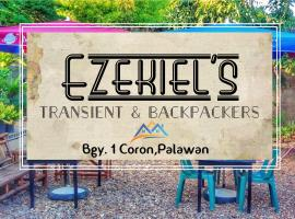 Ezekiel's Transient & Backpackers, hotel near Kayangan Lake, Coron
