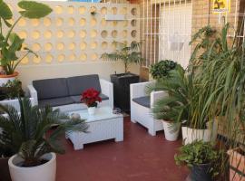 Apartamento Jardín Cerca del Centro, hotel que admite mascotas en Sevilla