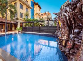 Royal Crown Hotel Siem Reap, hotel in Siem Reap