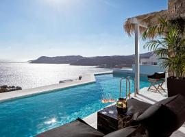 Myconian Villa Collection - Preferred Hotels & Resorts, resort in Elia Beach