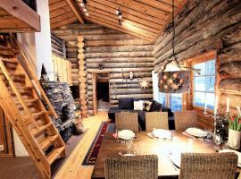 Little Bear Ruka - Pikkukarhu, slopes 500m, ski tracks 100m, lake 160m, hotelli Rukalla