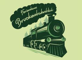 Ferienhaus Brockenbahnblick, apartment in Wernigerode