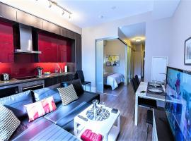 Upscale Suite at CN Tower, Metro Convention & Rogers Centre, apartment in Toronto