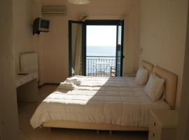 Gorgones, sea-front, great view, apartment in Kardamyli