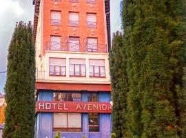 Hotel Avenida, hotel a la Seu d'Urgell
