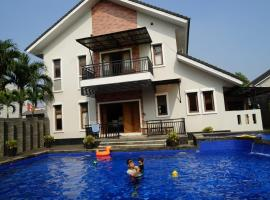 Pesona Air - Villa and Private Pool, hotel near Arthayasa Stables, Depok