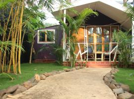 Sea Shades, luxury tent in Palolem