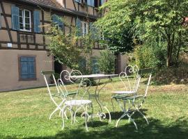 Le Gîte du Moulin, apartment in Ribeauvillé