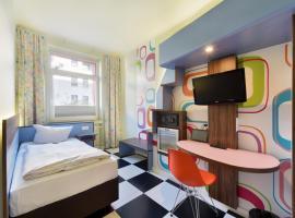 Cityhotel Thüringer Hof Design Hannover, Hotel in der Nähe von: Eisfabrik Commedia Futura, Hannover