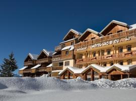 Hotel Lac Bleu 1650, hotel near Les Sybelles, Saint-François-Longchamp