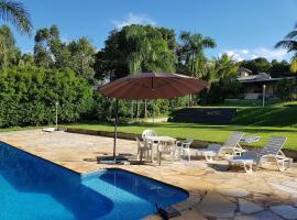 Rancho Hollywood, pet-friendly hotel in São José da Barra