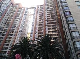 Apartamento Full Equipado Santiago Centro, hotel en Santiago