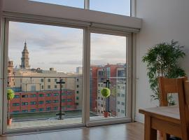 CITY CENTRE APARTMENT with Free Secure Underground Parking, pet-friendly hotel in Glasgow