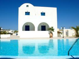 Blue Bay Villas, hotel in zona Aeroporto Internazionale di Santorini - JTR, Kamari