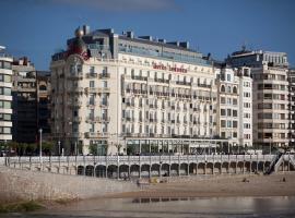 Hotel de Londres y de Inglaterra, hotel in San Sebastián