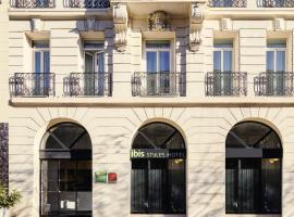ibis Styles Marseille Gare Saint-Charles, отель в Марселе