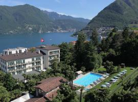 Continental Parkhotel, hotel in Lugano