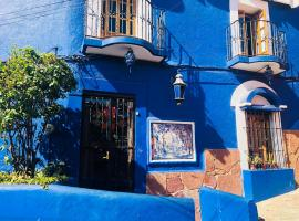 Casa Azul, отель в городе Гуанахуато