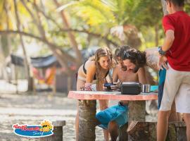 CasaGrande Surf, resort village in Guachaca