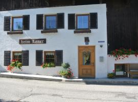 Ferienhaus beim Lener, pet-friendly hotel in Innsbruck