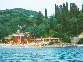 Villa Rossa, hotel near Sarakiniko beach, Parga