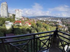 Апартаменты у парка Ривьера с шикарным видом с балкона, апартаменты/квартира в Сочи
