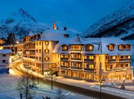 Alpenresort Fluchthorn, отель в Гальтюре