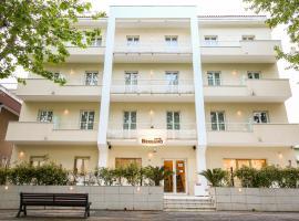 Hotel Bergamo, hotell nära Federico Fellinis internationella flygplats - RMI, Rimini