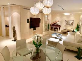 Dizengoff square presidential garden apartment, apartment in Tel Aviv
