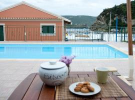 Akis Apartments, hotel near Theotokos Monastery, Paleokastritsa
