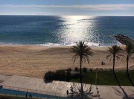 Studio Sea View 20m to beach - TOP Quarteira ALGARVE, hotel in Quarteira