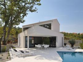 New 2017 Luxury Modern Seaview Villa*****, hotel with pools in Klimno