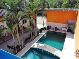 Casa Chalet del Capitán, hotel que admite mascotas en Rincón de Guayabitos