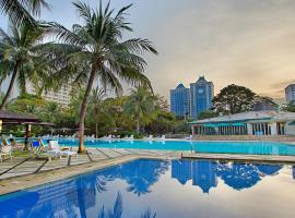 Hotel Borobudur Jakarta, hotel near Gambir Station, Jakarta