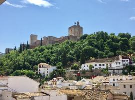 Casa Mirador Alhambra, villa en Granada