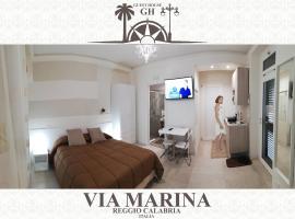 Guest House B&B Via Marina, hotel in zona Museo Nazionale Archeologico - Bronzi di Riace, Reggio Calabria