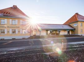 Hotel Am Sommerbad, отель в городе Хальберштадт