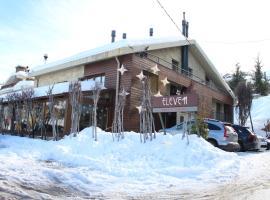 فندق إليفين، فندق في كفردبيان