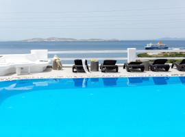 Flaskos Suites and more, pet-friendly hotel in Agios Stefanos