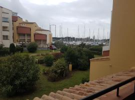 Studio/Appartement Idéalement Placé au Cœur de la Station, hôtel au Cap d'Agde près de: Aqualand Cap d'Agde