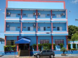 FRONTIER PALACE HOTEL, hotel em Ponta Porã