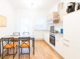 Private apartments with direct subway entrance, hotel with parking in Fürth