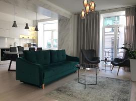 Riga serviced apartment, puhkemajutus Riias
