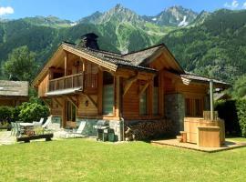 Le Chalet des Bois, chalet i Chamonix-Mont-Blanc