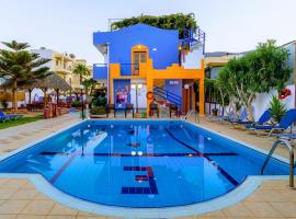 Eltina Apartments, hotel in Malia