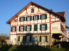 Hotel Restaurant Bahnhof, hôtel à Schüpfen près de: Carré Noir Theatre